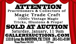 Gallery Auctions ad